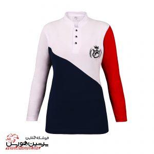 تی شرت زنانه آستین بلند پیتکو مدل خلیج